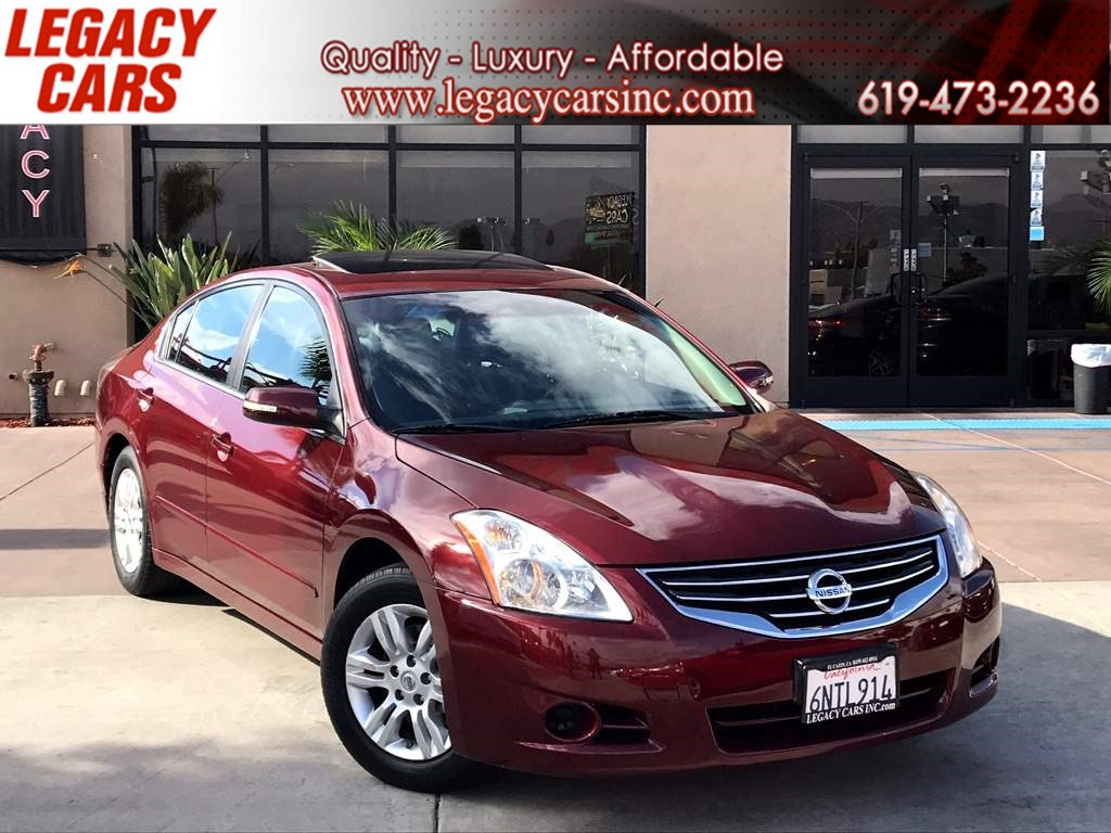 2010 Nissan Altima 2.5 SL w/SUNROOF/HEATED FRONT SEATS