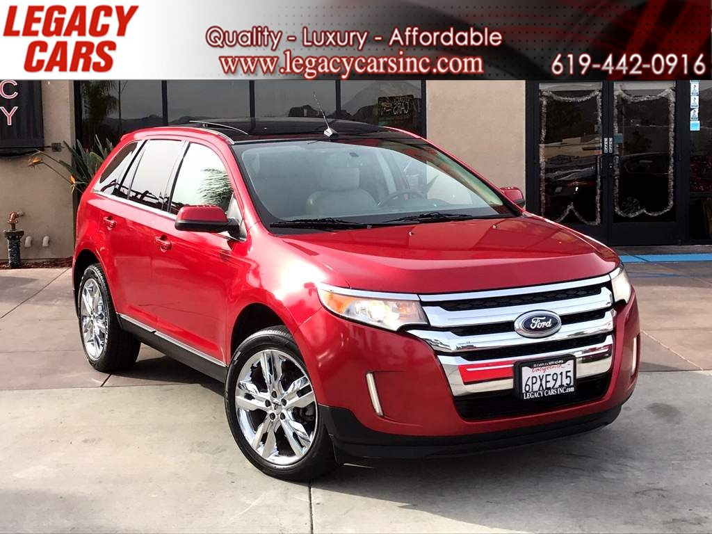 2011 Ford Edge Limited w/Back-up Cam/Pano Sunroof