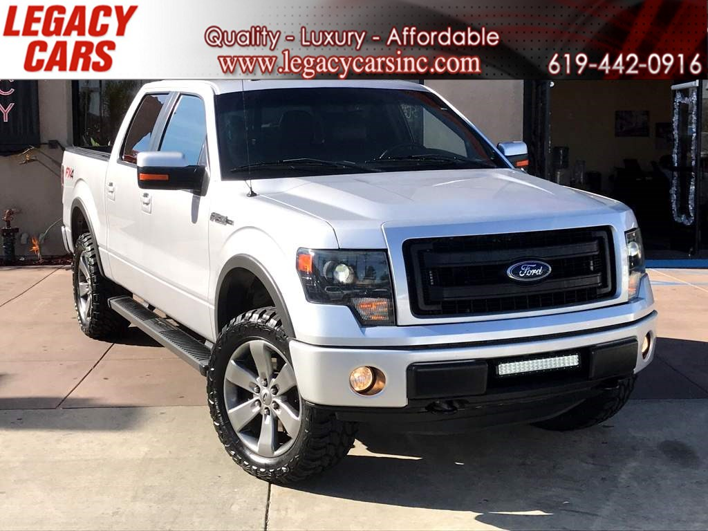 2014 Ford F-150 FX4 OFF-ROAD w/Sunroof/Nav/Back-up Cam