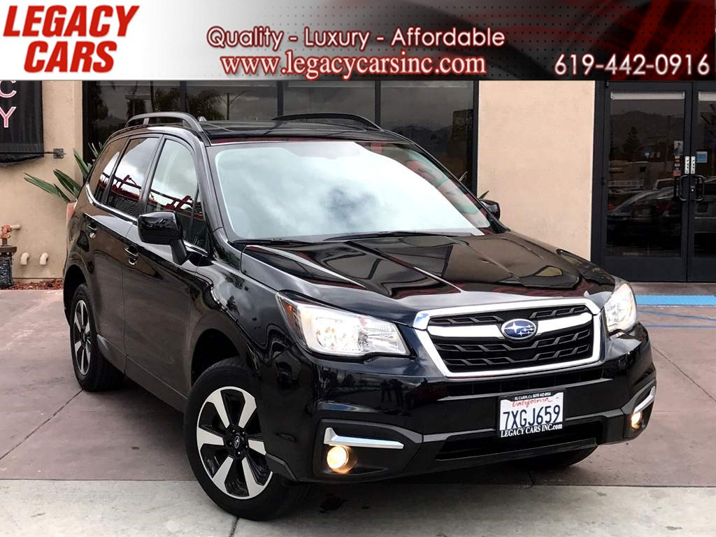 2017 Subaru Forester Limited AWD w/Pano Sunroof