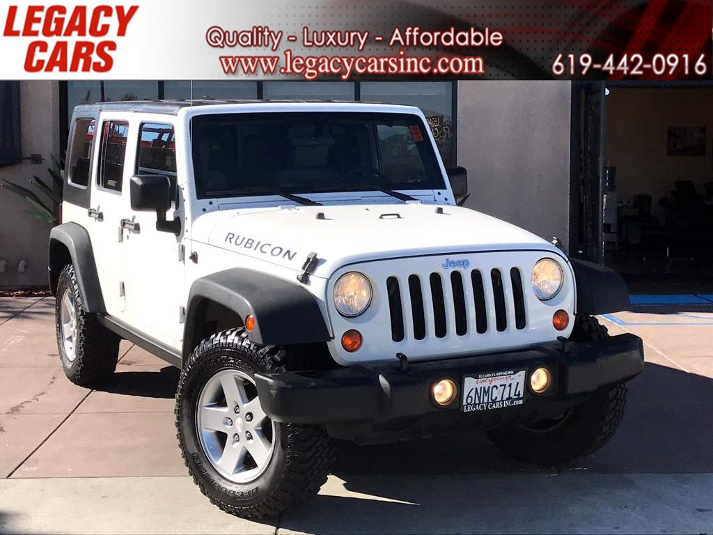 2010 Jeep Wrangler Unlimited Rubicon 6-Speed Manual