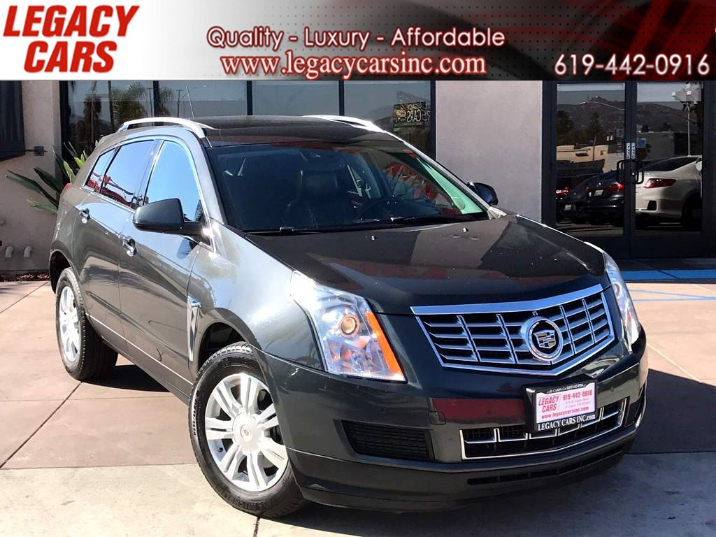 2016 Cadillac SRX Luxury Collection w/Nav/Sunroof