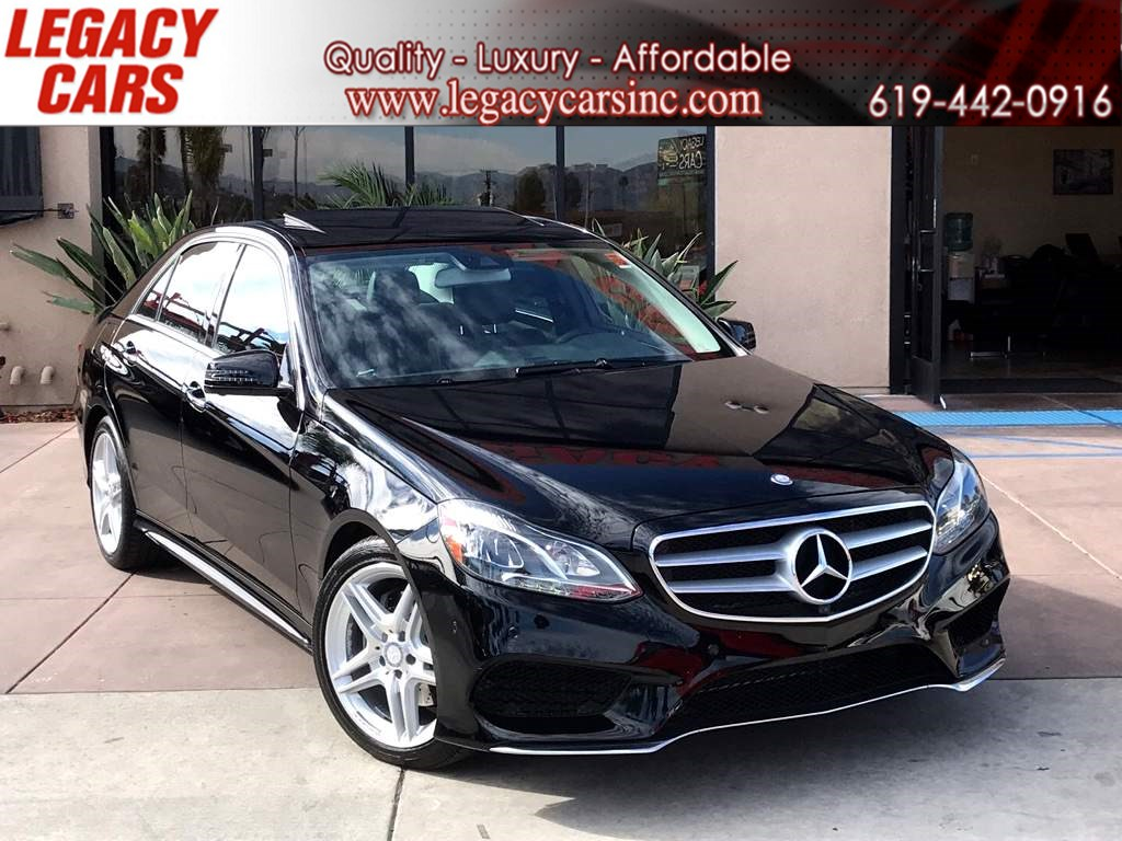 2014 Mercedes-Benz E 350 Sport w/Back-up cam/Sunroof/Nav