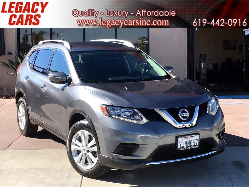 2015 Nissan Rogue SV w/3Rd Row Seat