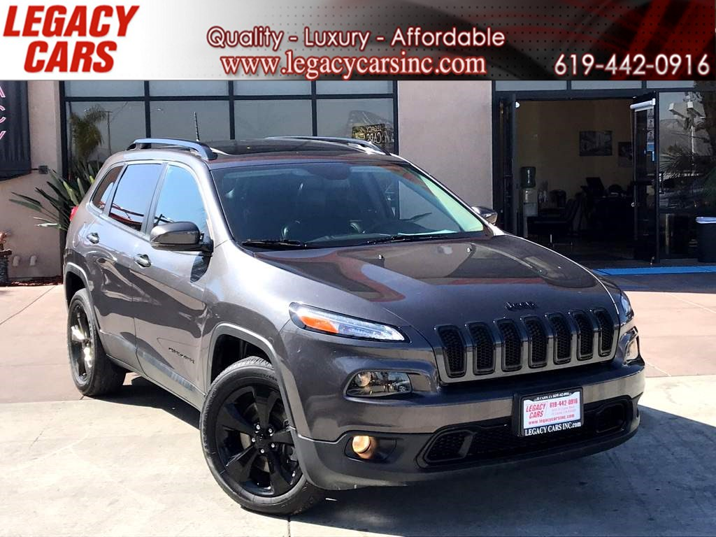 2016 Jeep Cherokee High Altitude 4x4 w/Back-up Cam/Sunroof/Nav