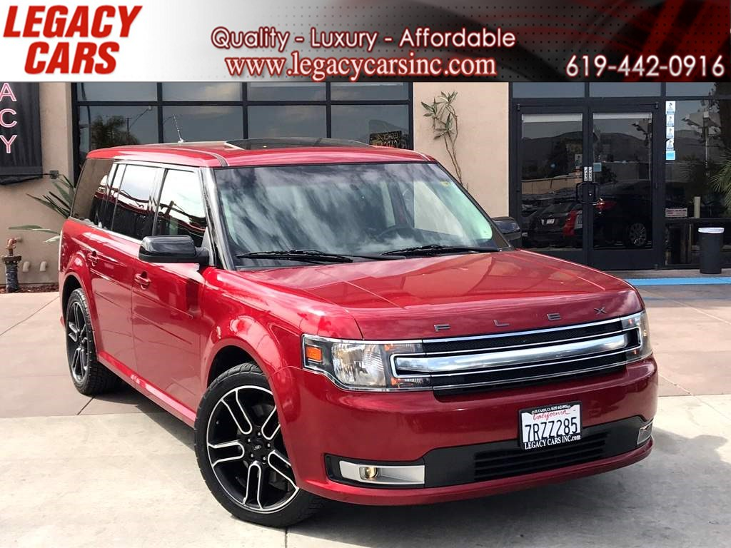 2013 Ford Flex SEL 3RD ROW w/Back-up Cam/Nav/Pano Sunroof