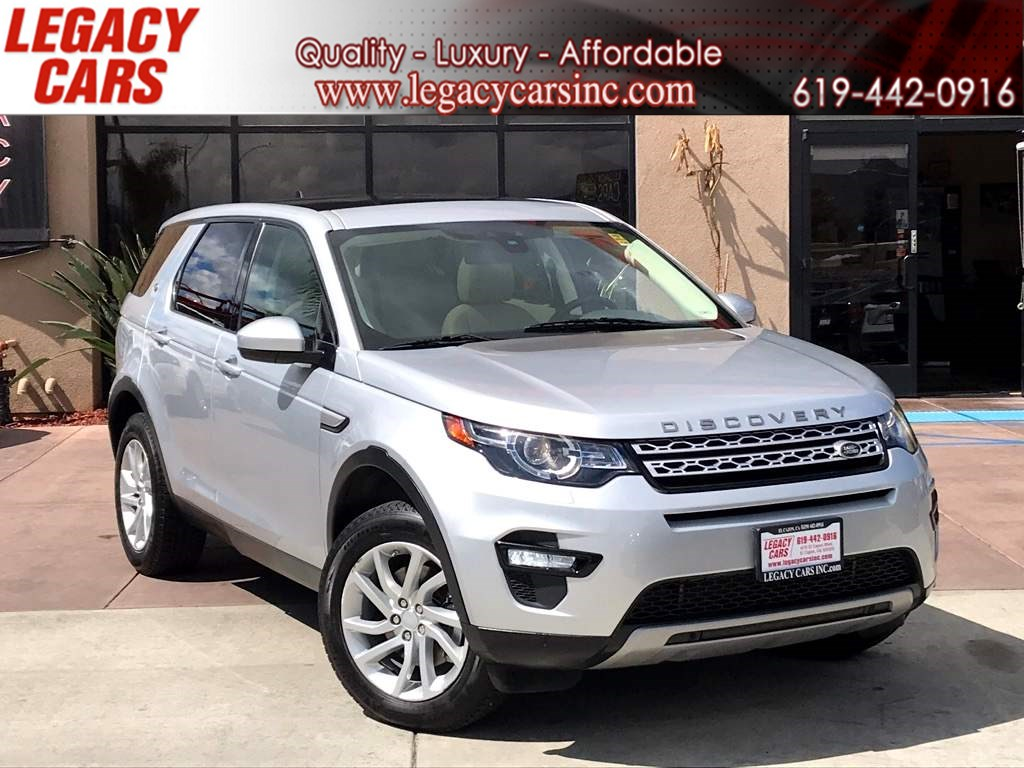 2016 Land Rover Discovery Sport HSE w/Pano Sunroof