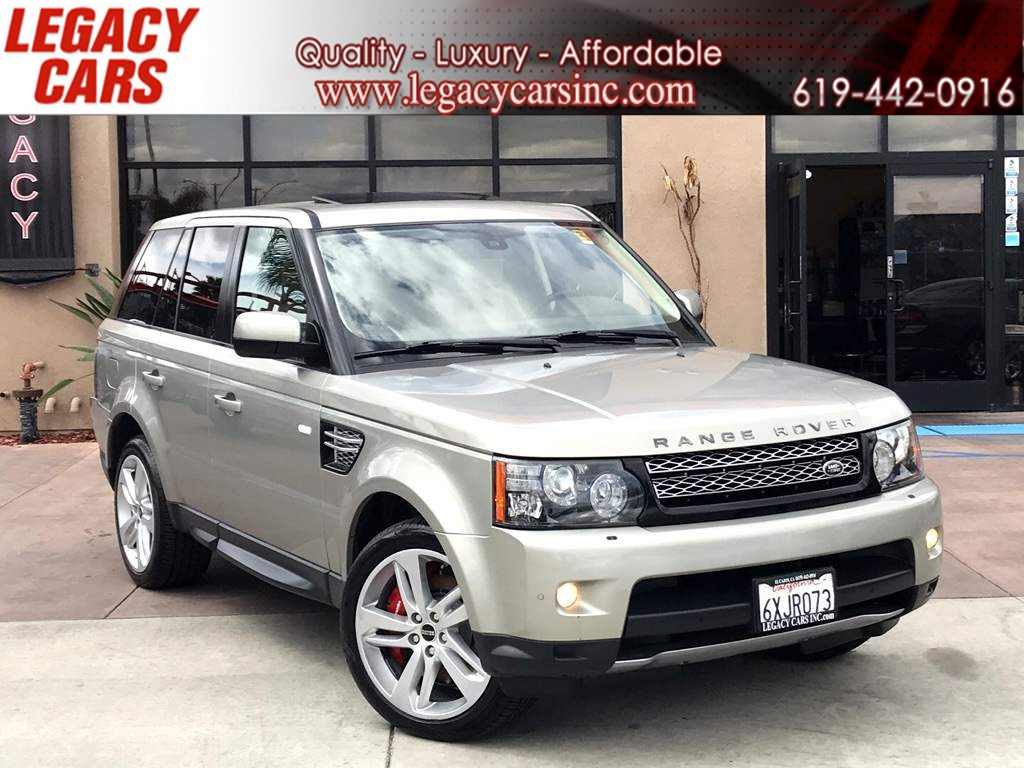 2013 Land Rover Range Rover Sport Supercharged w/Nav/Sunroof