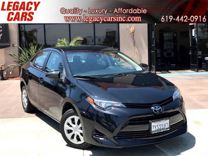 2017 Toyota Corolla L w/Backup Camera/Bluetooth