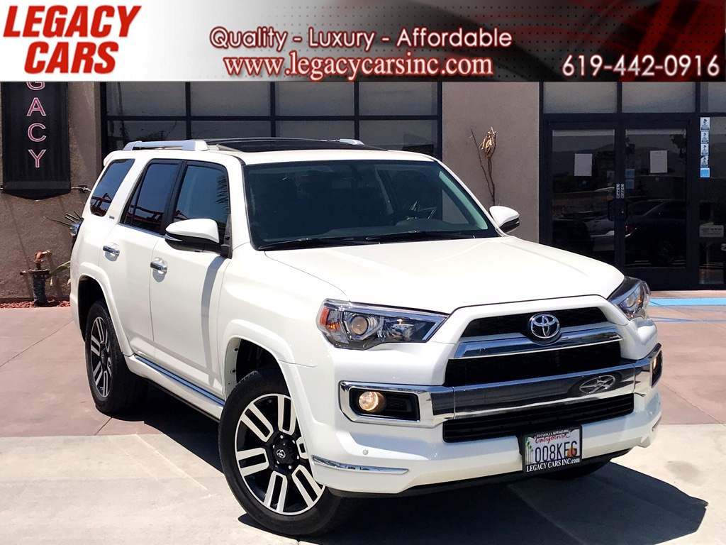 2017 Toyota 4Runner Limited 4x4 w/Nav/Sunroof 3RD ROW