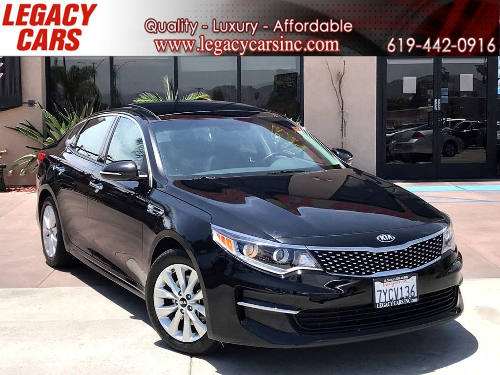 2016 Kia Optima EX Premium w/Nav/Pano Sunroof