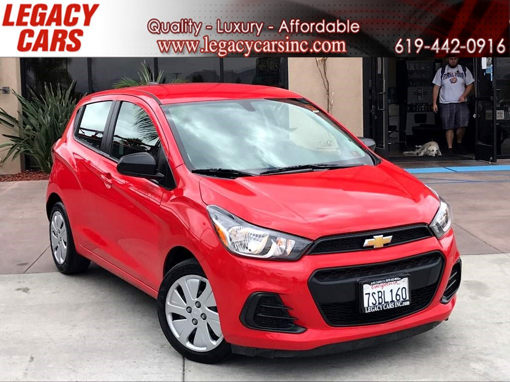 2016 Chevrolet Spark LS w/Backup Camera/Bluetooth