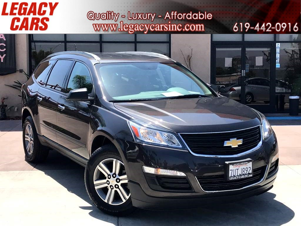 2017 Chevrolet Traverse LS w/Backup Camera 3RD ROW