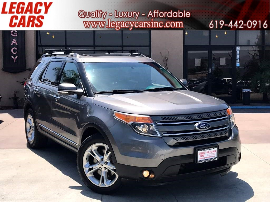 2013 Ford Explorer Limited AWD W/Pano Sunroof