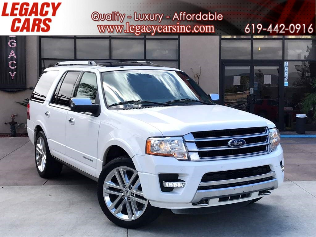 2015 Ford Expedition Platinum EcoBoost 4x4 w/Nav/Sunroof 3RD ROW