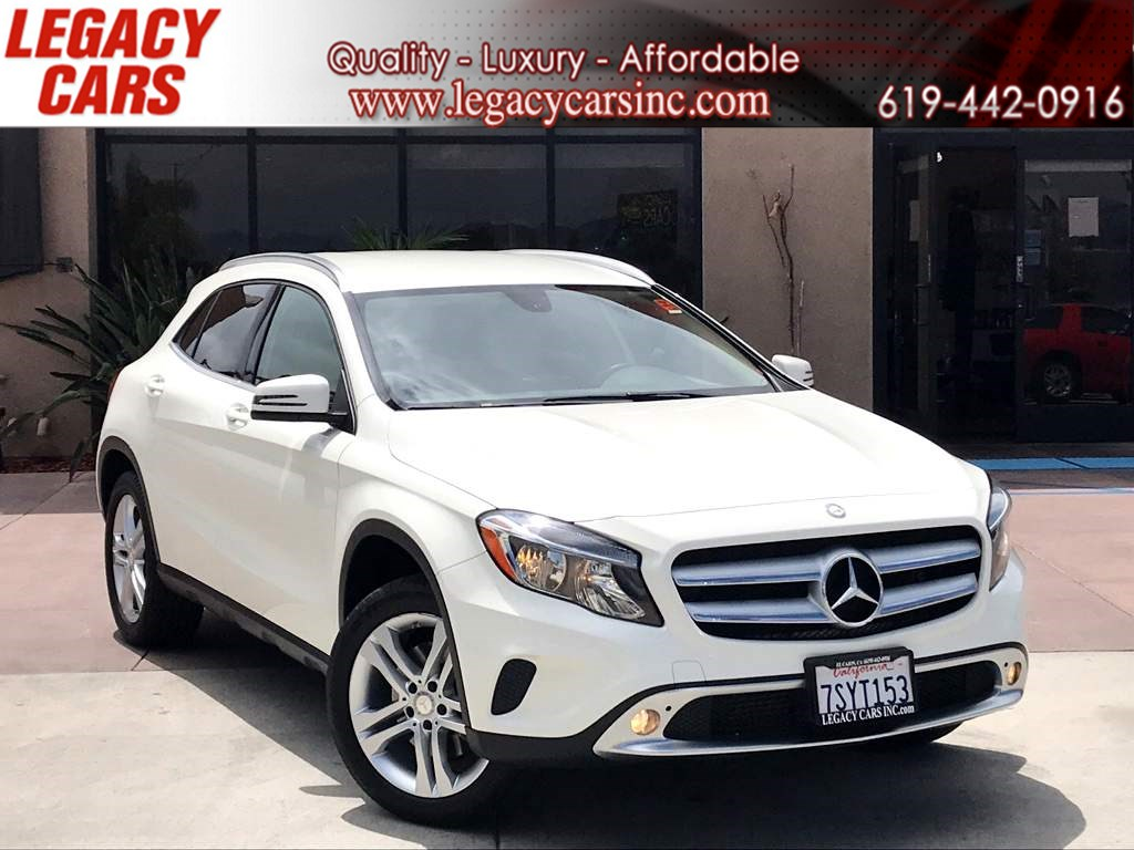 2015 Mercedes-Benz GLA 250 w/Leather