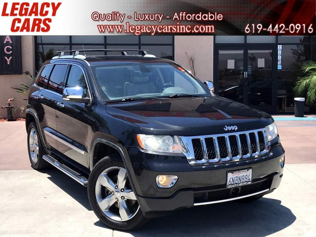 Sold 2011 Jeep Grand Cherokee Overland 5 7l Hemi V8 W Nav Pano Sunroof In El Cajon