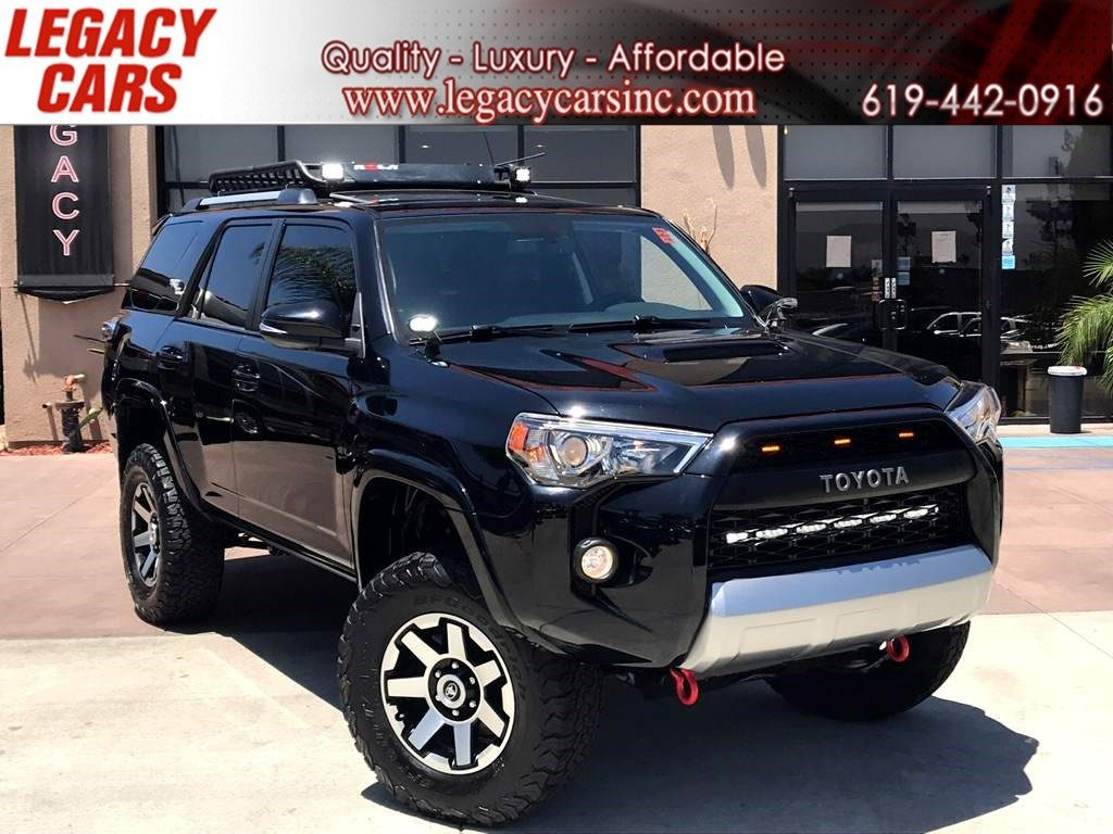 Sold 2018 Toyota 4runner Trd Off Road Premium 4x4 Lifted In El Cajon