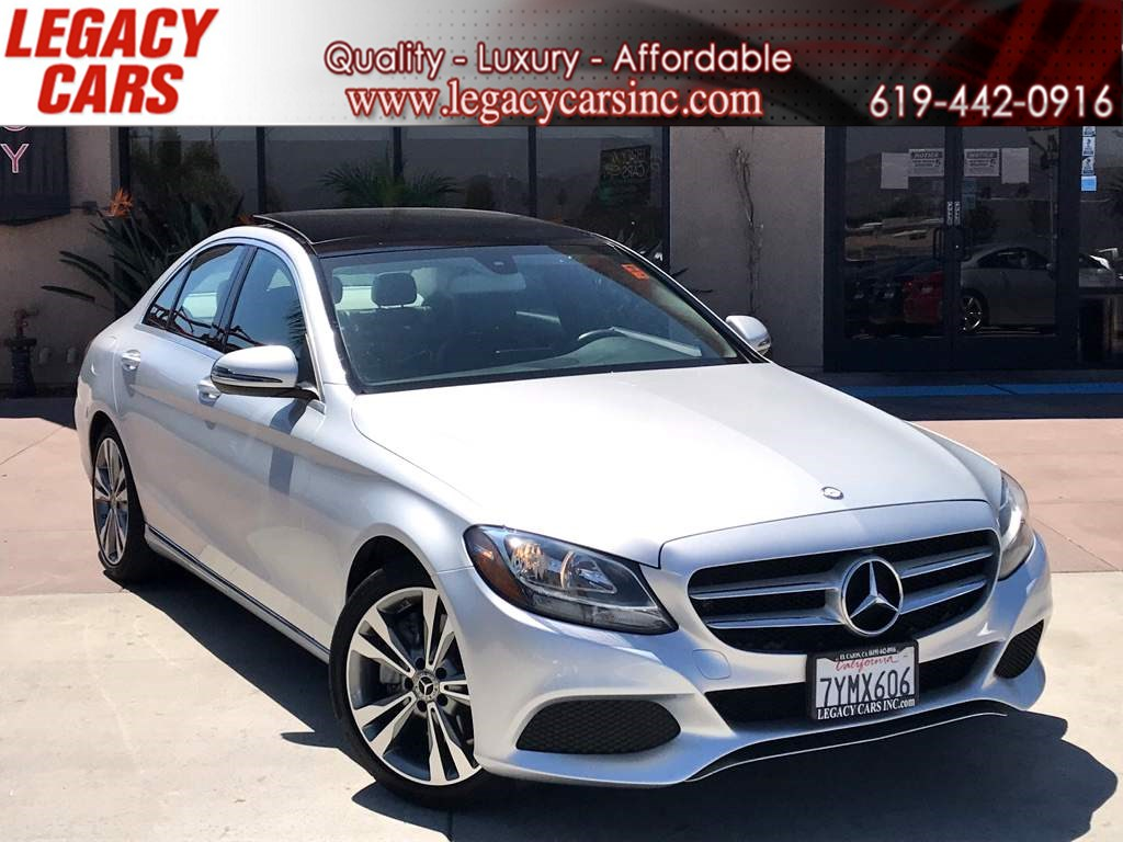 2017 Mercedes-Benz C 300 Sport w/Pano Sunroof