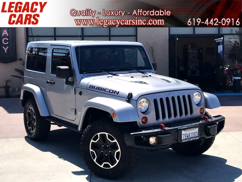 2013 Jeep Wrangler Rubicon 10th Anniversary w/Nav HARD TOP LOW MILES
