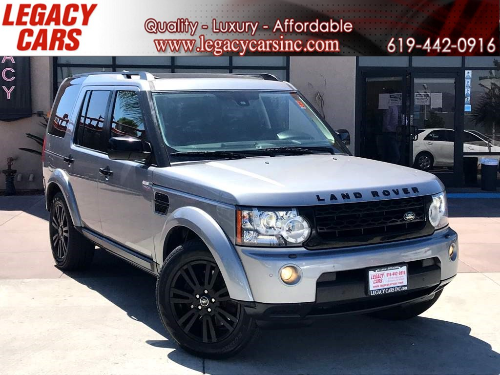 2013 Land Rover LR4 HSE LUX AWD w/Nav/Sunroof/DVD 3RD ROW