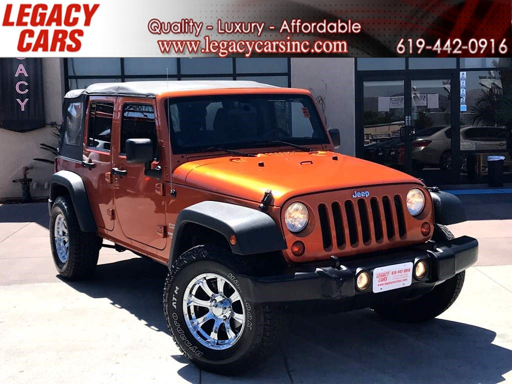 2011 Jeep Wrangler Unlimited Sport 4x4 6-Speed Manual Soft Top