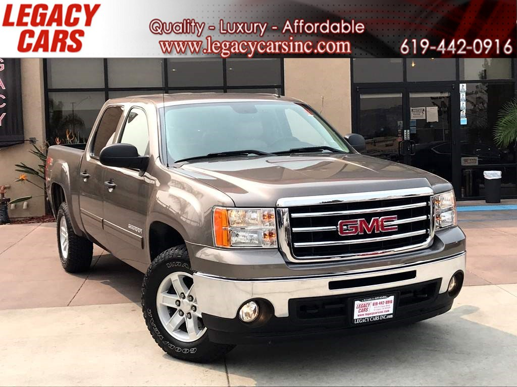 2013 GMC Sierra 1500 SLE 4x4 w/Backup Camera/Leather CREW CAB LOW MILES