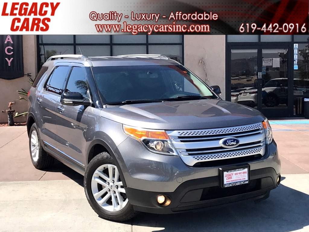 2014 Ford Explorer XLT w/Backup Camera/Bluetooth 3RD ROW