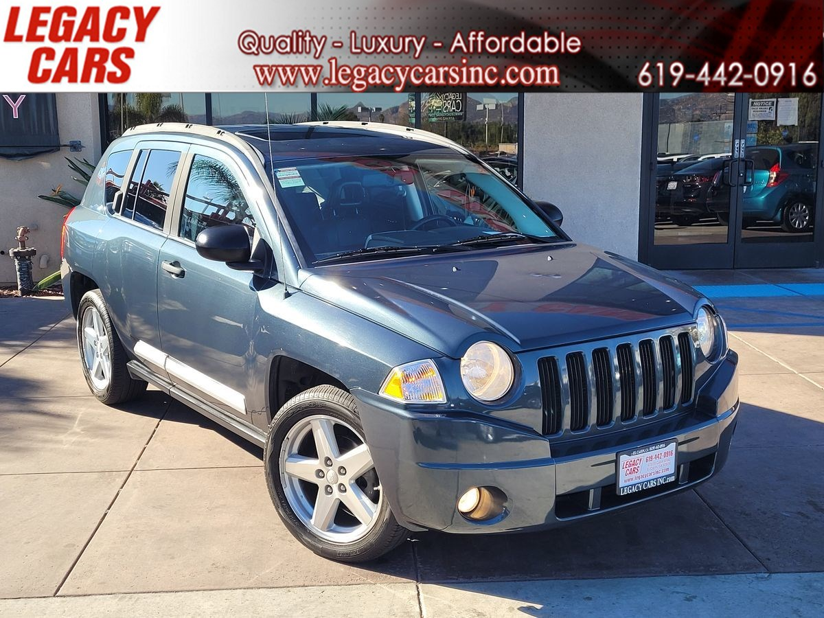 2008 Jeep Compass Limited 4X4 w/SUNROOF/NAV
