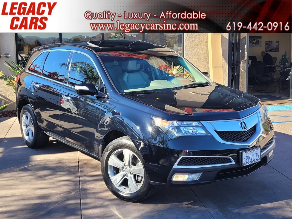 2011 Acura MDX SH-AWD 3rd Row w/Tech pkg/Sunroof