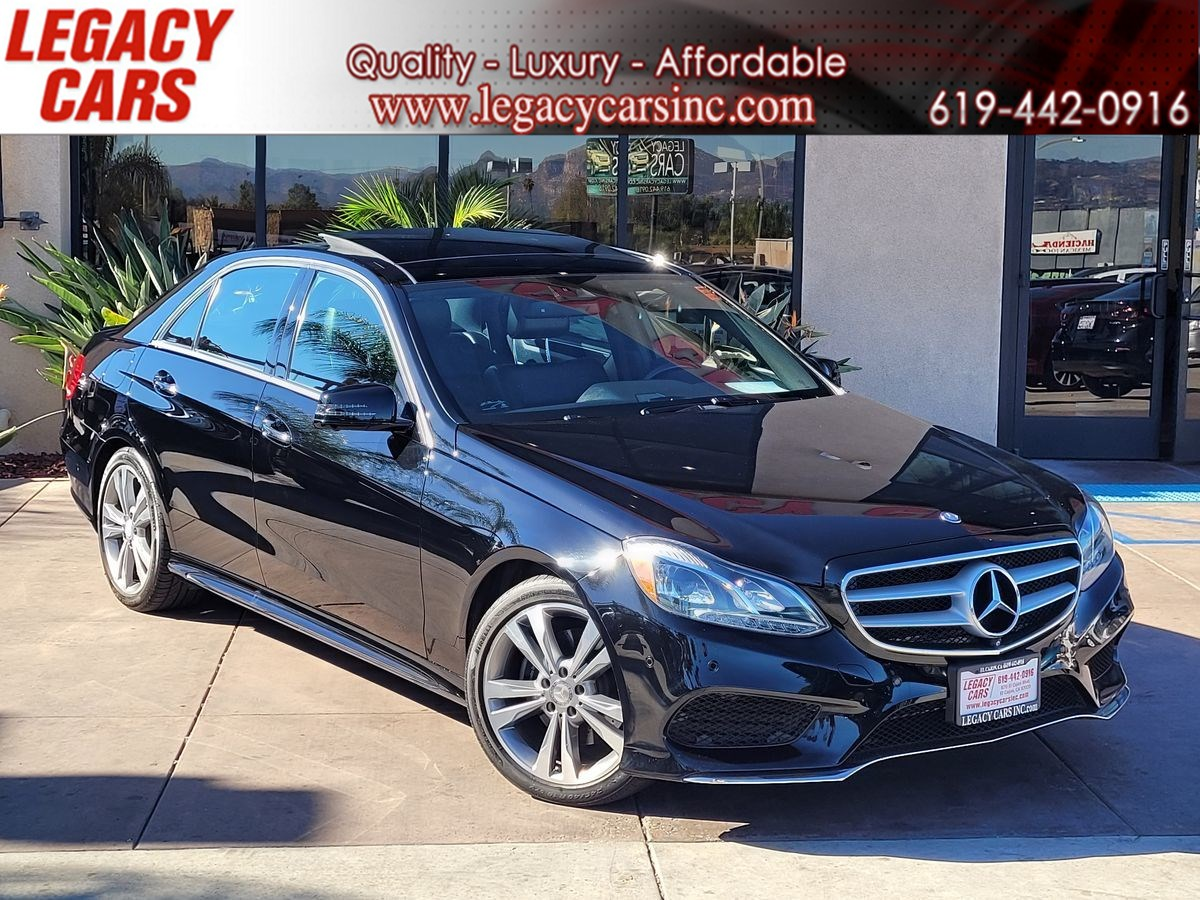 2015 Mercedes-Benz E 350 E 350 w/Nav/Parking assist/Pano Sunroof