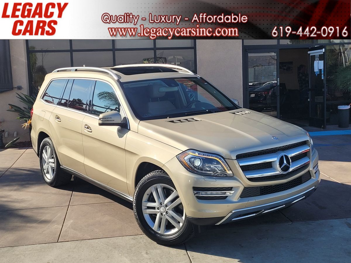 2013 Mercedes-Benz GL 450 4MATIC AWD V8 w/3rd row/Back-up cam