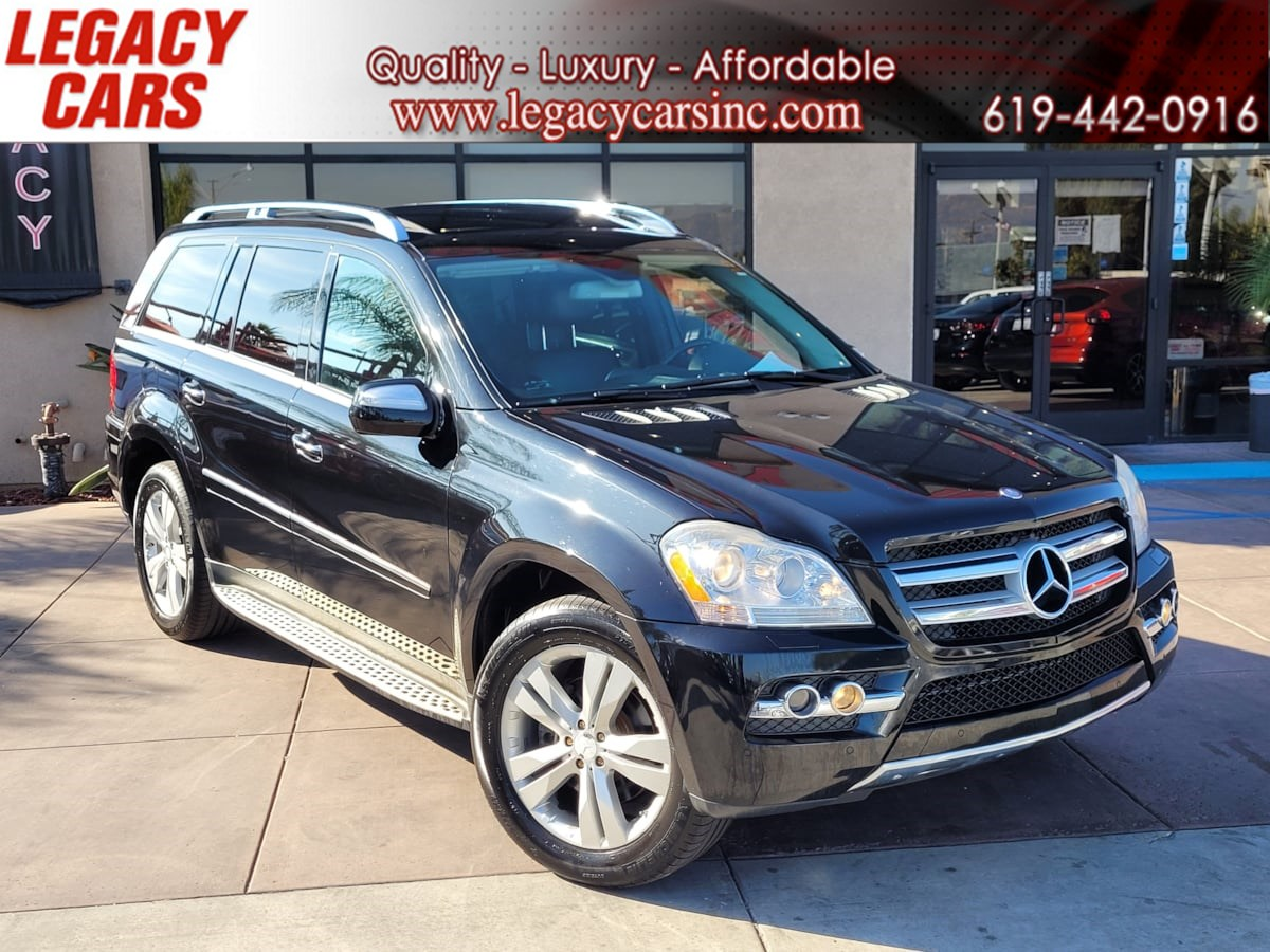 2010 Mercedes-Benz GL 450 4MATIC 3rd row AWD w/Nav/Back-up cam/Sunroof