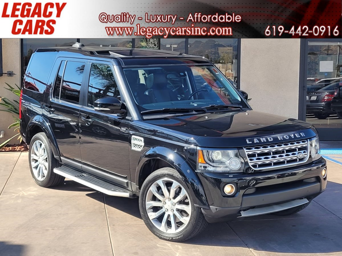 2015 Land Rover LR4 HSE LUX 4x4 3rd row w/Entertainment system/Nav