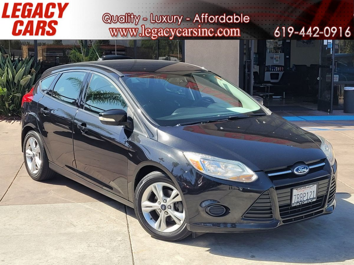 2013 Ford Focus SE PZEV MANUAL TRANS.