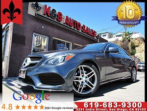 View 2016 Mercedes-Benz E 400 Coupe**P01*P02*Sport Pkg*1 Owner Carfax*