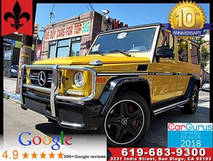 View 2016 Mercedes-Benz AMG G 63* 4 NEW PIRELLI SCORPION TIRES*