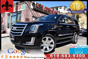View 2017 Cadillac Escalade Luxury*Blind Spot Alert*Head Up Dis*Navi