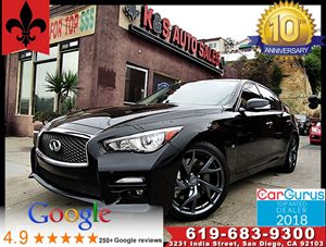 View 2015 INFINITI Q50 Sport**Deluxe Touring Pkg*Leather Seats**2Fobs