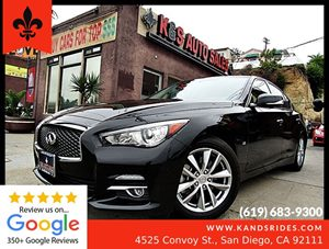 View 2015 INFINITI Q50 3.7 Sedan*Keyless Entry*1 OWNER**2 Smart Keys