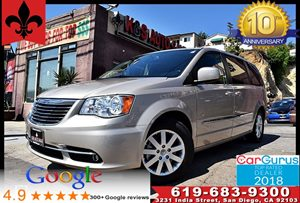 View 2016 Chrysler Town & Country Touring**Leather seats*Back Up Cam*
