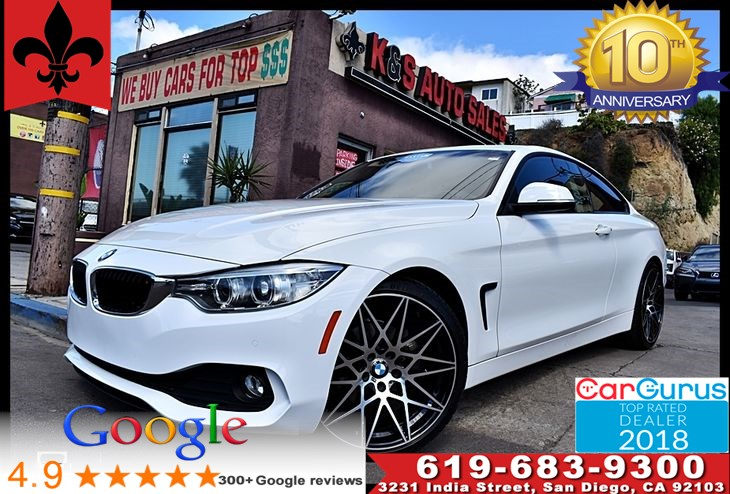 2015 BMW 428i Coupe*Bluetooth*Driving Assistance Pkg*ZDA BackUp Cam*MoonRoof