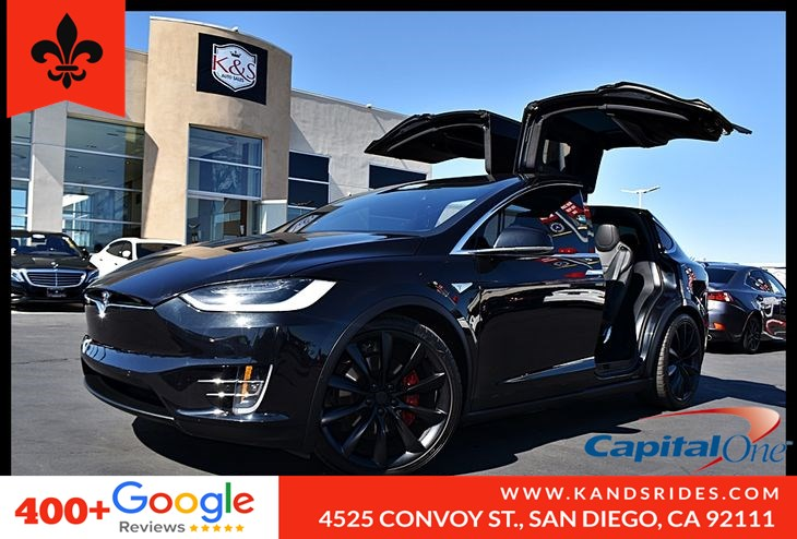 2016 Tesla Model X P90D AWD 7 SEATS 250 Range Autopilot 691HP LUDICROUS MODE