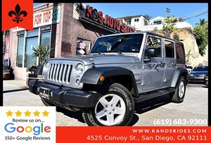 View 2016 Jeep Wrangler Unlimited Sport**4WD**A/C*Keyless Enry**