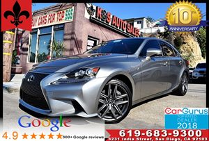 View 2016 Lexus IS 200t F Sport Pkg*Blind Spot*Navigation Sys*