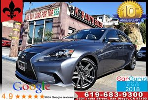 View 2015 Lexus IS 250 F Sport Pkg*Rear Cam*Bluetooth*1OWNER*