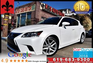 View 2015 Lexus CT 200h Hybrid*Moonroof*Sat Radio*Keyless Entry*
