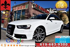 View 2016 Audi A4 CVT Premium 2.0T*Leather*Moonroof*1 Owner*