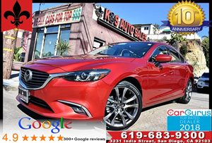 View 2016 Mazda Mazda6 i Grand Touring*GT Tech Pkg*MoonRoof*Bose*