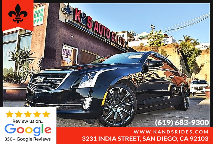 Used 2015 Cadillac Ats Coupe Luxury 2 0t 1 Owner Cue Pkg Nav Sys